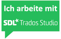 I work with SDL Trados Studio 2017